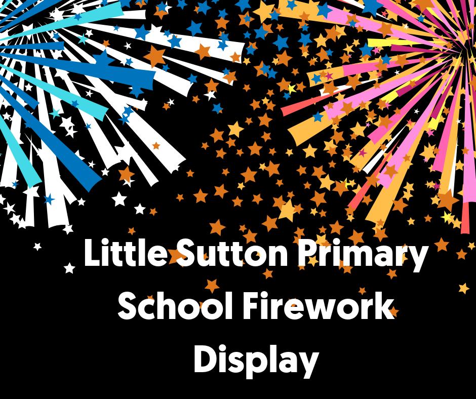 Little Sutton Primary School Firework Display- Adult Ticket