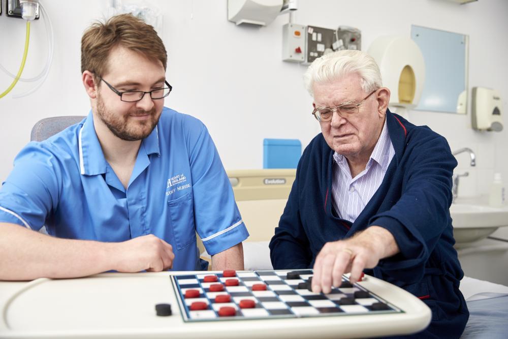 Activities for older patients